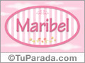 Maribel - Nombre decorativo