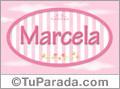 Marcela - Nombre decorativo