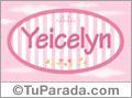 Yeicelyn - Nombre decorativo