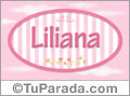 Liliana - Nombre decorativo