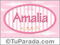 Amalia - Nombre decorativo