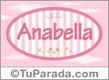 Anabella - Nombre decorativo