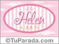 Helen -Nombre decorativo