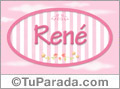 René - Nombre decorativo