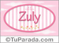 Zuly - Nombre decorativo
