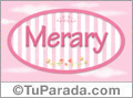 Merary - Nombre decorativo