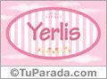 Yerlis - Nombre decorativo