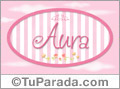 Aura - Nombre decorativo