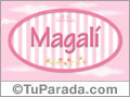 Magali - Nombre decorativo