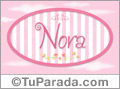 Nora - Nombre decorativo
