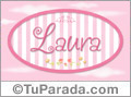 Laura - Nombre decorativo