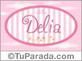 Delia - Nombre decorativo