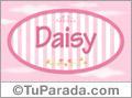 Daisy - Nombre decorativo
