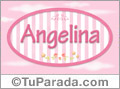 Angelina - Nombre decorativo