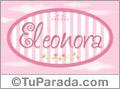 Eleonora - Nombre decorativo