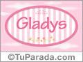 Gladys, nombre para niñas