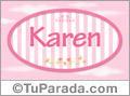 Karen, nombre para niñas