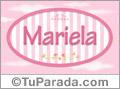 Mariela, nombre para niñas