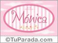 Mónica, nombre para niñas