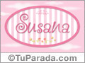 Susana, nombre para niñas