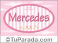 Mercedes, nombre para niñas