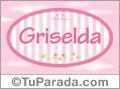 Griselda, nombre para niñas