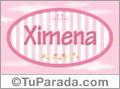 Ximena, nombre para niñas