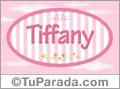 Tiffany, nombre para niñas