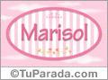 Marisol, nombre para niñas