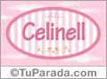 Celinell, nombre para niñas