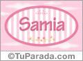 Samia, nombre para niñas