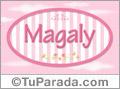Magaly, nombre para niñas