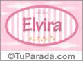 Elvira, nombre para niñas