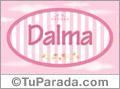 Dalma, nombre para niñas