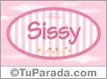 Sissy, nombre para niñas