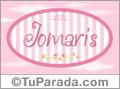 Jomaris, nombre para niñas