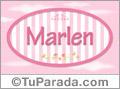 Marlen, nombre para niñas