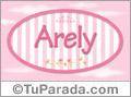 Arely, nombre para niñas