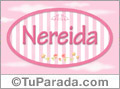 Nereida, nombre para niñas
