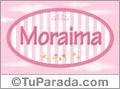 Moraima, nombre de niña