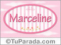 Marceline, nombre de niña