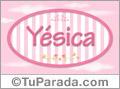 Yésica, nombre de bebé de niña