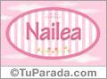Nailea, nombre de bebé de niña