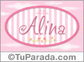 Alina, nombre de bebé de niña