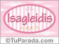 Isagleidis, nombre de bebé de niña