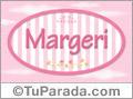 Margeri, nombre de bebé de niña