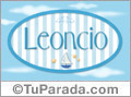 Leoncio - Nombre decorativo