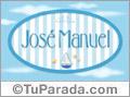 José Manuel - Nombre decorativo