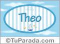 Theo - Nombre decorativo