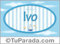 Ivo - Nombre decorativo